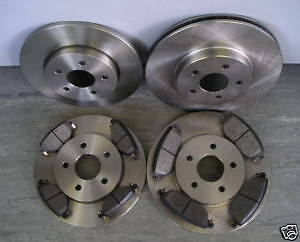 Mk3 Ford Mondeo 2001-2004 Front And Rear Brake Discs And Pads