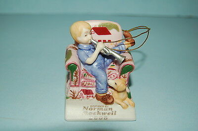Norman Rockwell Ornament 2005 Trumpeter