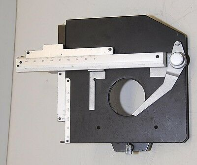 Technical Instrument X Y + Rotate Slide Holder Microscope Stage