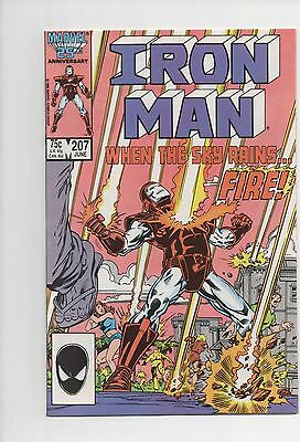 Iron Man #207 NM- 9.2 1986 Marvel See My Store