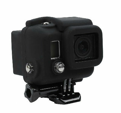 Soft Rubber Silicone Protective Cover Accessories f GoPro Hero 4 3+ Housing Case