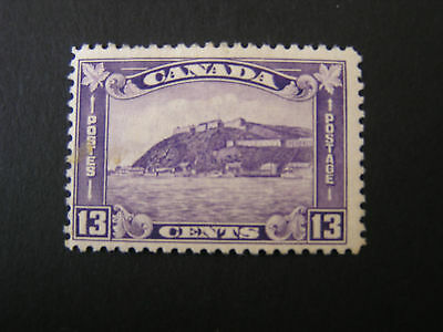 CANADA, SCOTT # 201, 13c. VALUE DULL VIOLET 1932 KGV ISSUE MNH
