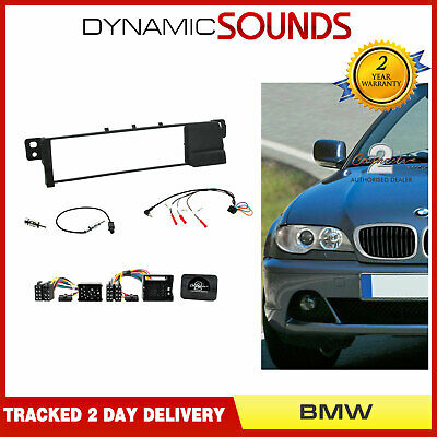 Kenwood CTKBM07 Car CD Stereo Single Din Fascia Fitting Kit For BMW 3 Series E46