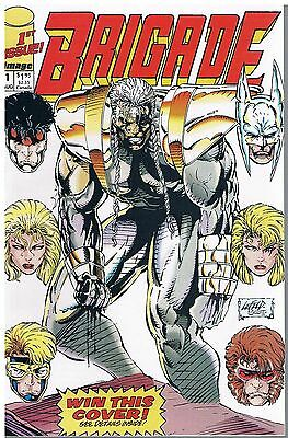 Brigade (Limited Series) No.1 / 1992  Image Comics USA
