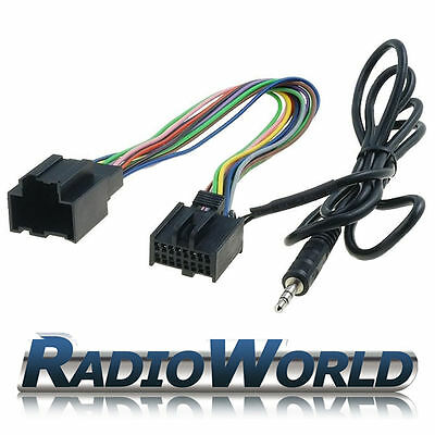Saab 93 95 Aux Input Adaptor Connector Lead MP3 iPod iPhone Interface