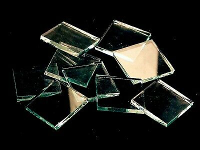 Clear Smooth Mosaic Glass Tile | Cut to Order Shapes | Medium Package