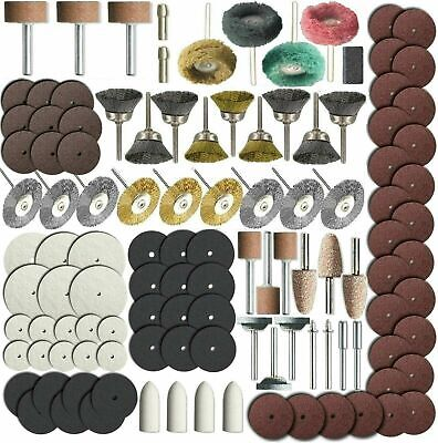 216 Piece Rotary Tool Accessory Set - Grinding, Sanding, Polishing