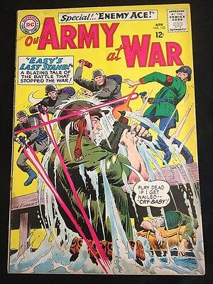 OUR ARMY AT WAR #153 VG- Condition