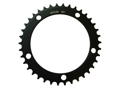 Chainring Track Single Fixie 130BCD x 1/8 x 38T Shun