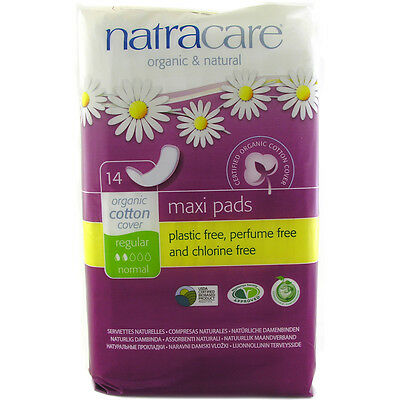 Natracare Natural Maxi Pads