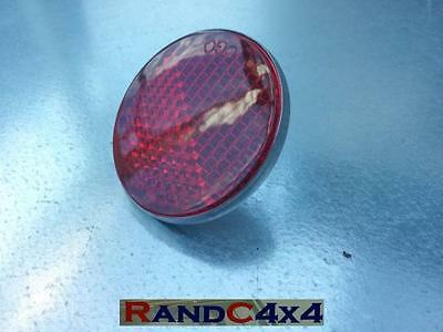 551595 Land Rover Series 1 2 2a 3 Red Rear Reflector Round (1)