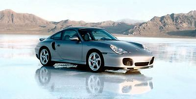 2001 Porsche 911 996 Turbo Automobile Photo Poster zu2696-QUFMKF