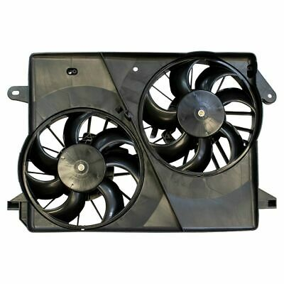 Radiator Dual Cooling Fan & Motor Assembly for Dodge Chrysler Charger Magnum 300