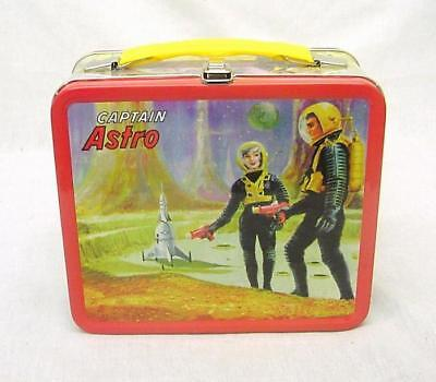 Captain Astro Full Size Tin Lunch box