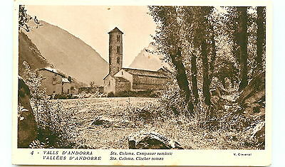 ANDORRE - clocher roman