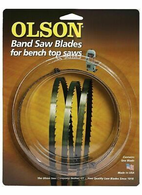 "Olson 57259 Band Saw Blade 59-1/2"" Long x 3/8"" Wide 4 TPI"