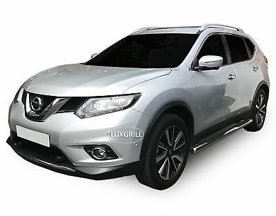 SB356SS Nissan X-Trail T32 2014-up SIDE BARS WITH STEPS STAINLESS STEEL CHROME