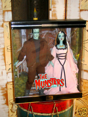 THE MUNSTERS Ken & Barbie COLLECTOR EDITION Set NRFB