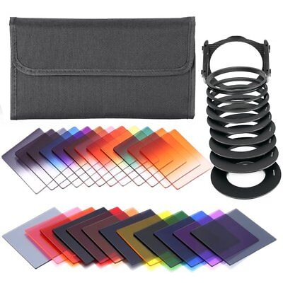 41 in 1 Graduated Neutral Density ND Color filter set Holder for Cokin P Series