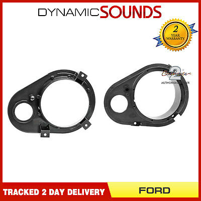 CT25FD06 130mm Front Door Speaker Adaptor Kit Rings For Ford Escort 1990 - 2000