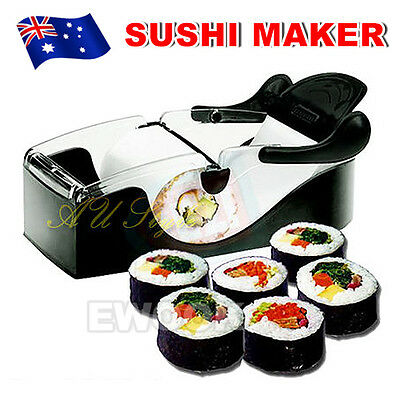 OZ Delicious Home Made Sushi Maker Roller Easy Roll Machine Perfect Brand New