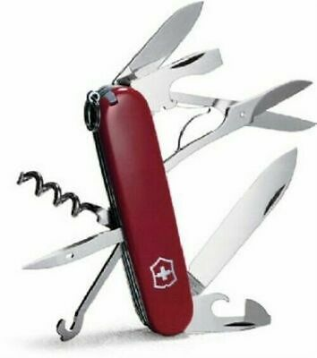 Victorinox Swiss Army 53381 Red Climber Pocket Knife