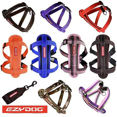 EzyDog Harness Reflective Stitching Removable Safety Car Restraint Ezy Dog