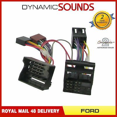CT10FD03 Parrot SOT T-Harness Adaptor ISO Wiring Lead For FORD Fiesta 2005-2008