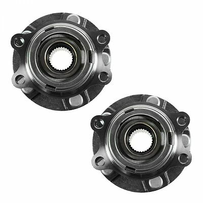 Wheel Hub & Bearing Front Left & Right Pair Set for 07-11 Altima w/ABS 2.5L