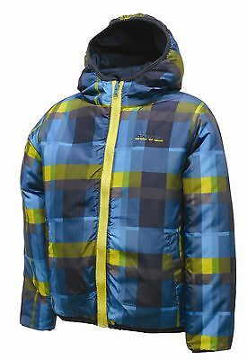 Rrp £50 Boys Dare2B Reversible Quilted Temperament Jacket
