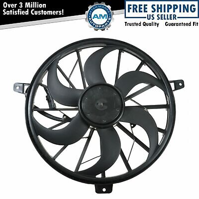 Radiator Cooling Fan 3 Pin Plug for 02-04 Jeep Grand Cherokee w/Tow Package 4.0L