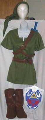 Link Costume Twilight Princess for kids Zelda Cosplay custom made IN AMERICA