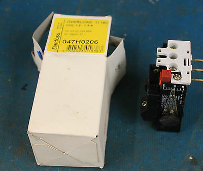 Danfloss TI16C 047H0206 Thermal Overload relay 1.2 to 1.9A