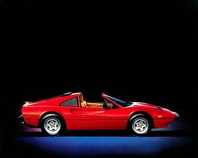 1984 Ferrari 308GTS Cabriolet Automobile Photo Poster zu6580-XO59AG