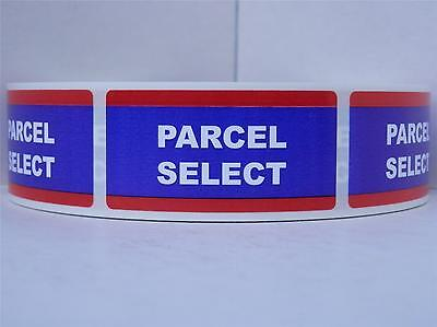 Parcel Select USPS 1x2 Mailing Shipping Stickers Labels 500/rl