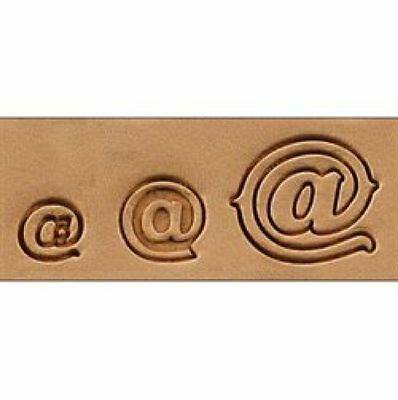 Craftool @ Stamp Set Asstd Sizes 8154-00 by Tandy Leather