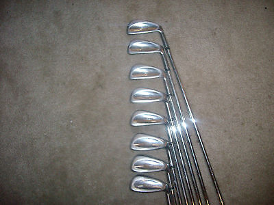 Walter Hagen Matrix Irons-(3-PW)-Steel Shafts-THESE ARE RARE!!!!!!!!!!!!!!!!!!!!