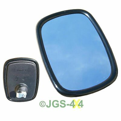 """Universal Wing Mirror 7""""x5"""" Land Rover Tractor Forklift Classic Car"""
