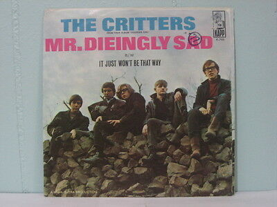 45 PS  THE CRITTERS Mr Dieingly Sad - It Just  K-769   EB582