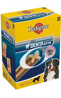 Pedigree Daily Dentastix Chew Healthy Treat for Large Dogs 28 Pack