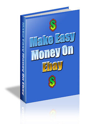 Make Easy Money On Ebay.  Secrets Only The Pros Know To Unlock A Goldmine (CD)
