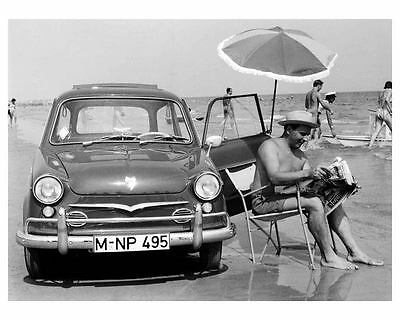 1961 NSU Prinz Automobile Photo Poster Microcar zu9012-4B4Y6T