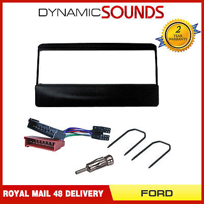 FP-07-00 Stereo Radio Black Fascia Panel Fitting Kit for Ford Mondeo (1993-2003)