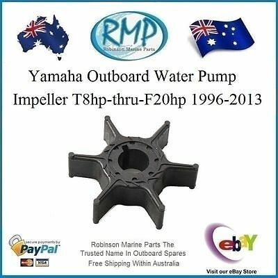 A Brand New Outboard Impeller Suits Yamaha T8hp-thru-F20hp # R 63V-44352-01