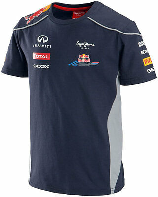 Authentic Infiniti Red Bull Racing F1 Team 2013 Toddler And Junior Team T-Shirt