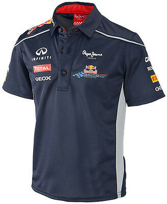 Authentic Infiniti Red Bull Racing F1 Team 2013 Toddler / Junior Team Polo Shirt