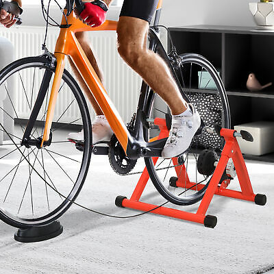 Magnetic Bike Bicycle Trainer Stand 5 Level Resistance Indoor Exercise Folding