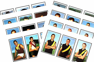 Australian Footballers 1964 - New Collectable Postcard Set # 2