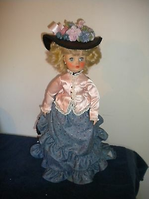 "VINTAGE HORSMAN DOLL CINDY? 19"" REDRESSED VICTORIAN"