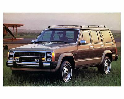 1984 Jeep Wagoneer Limited 4x4 Factory Photo  m1006-AZQTPR